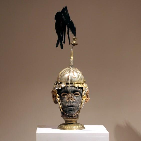 black-face+eyes+gold-helmet-warrior-kriegerisch-55x15x17--180