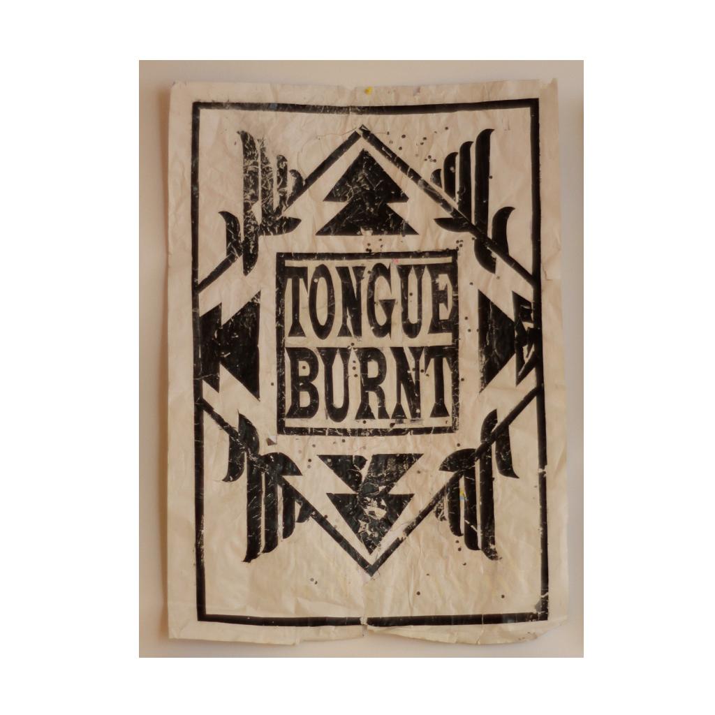 tongue-burnt