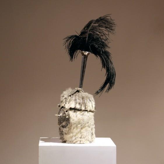 bird-head-warrior-kriegerisch-54x20x14--180